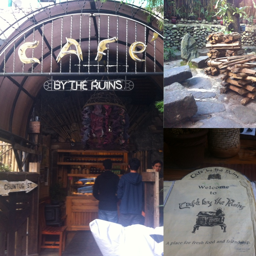 Baguio Foods - Café by the Ruins