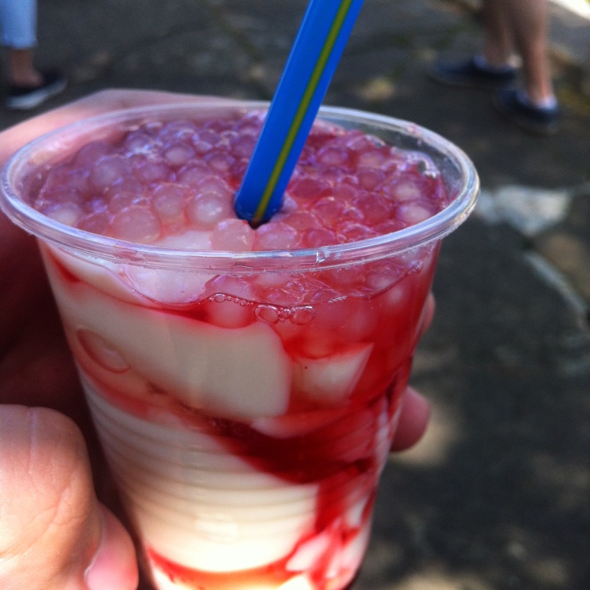 Baguio Foods - Strawberry Taho