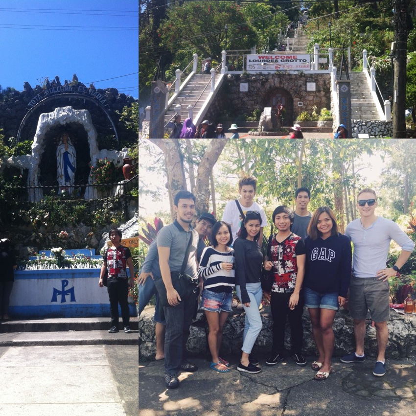 Baguio Place - Lourdes Grotto